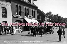 KE 674 - The Square & Coach, Birchington On Sea, Kent c1913 - 6x4 Photo