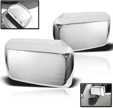 2006-2010 HUMMER H3 H3T SIDE MIRROR COVER TRIM BEZEL CAP CHROME SET PAIR OVERLAY