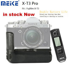 Meike MK-XT3 Pro Battery Grip with 2.4G Wireless Remote for Fujifilm X-T3 Camera