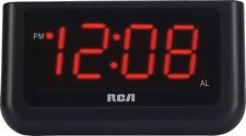 """Digital Alarm Clock With Large 1.4"""" Display Easy Wakeup Big Red Digits Snooze"""