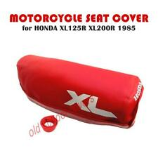 MOTORCYCLE SEAT COVER HONDA XL125R XL200R 1985 MODEL IN RED