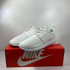 Nike Roshe Run One Men's Triple White-White [511881-112] Multi Size FREE SHIP