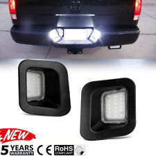 2x For Dodge Ram 1500 2500 3500 03-18 License Plate Rear Bumper Lights LED Lamps