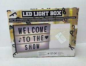 LED LIGHT BOX 85 LETTERS AND SYMBOLS