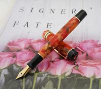 Beautiful Kaigelu 316 Acrylic Celluloid Fountain Pen EF/F/M Nib - Maple Leaf