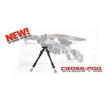 Excalibur Tactical Picatinny Rail Cross-Pod Adjustable Crossbow Firearm Bi-Pod