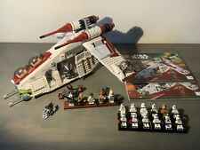 LEGO Star Wars Republic Gunship 75021 Complete With  Extra Clones Manual