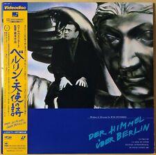 "1994 ""Laserdisc"" Der Himmel uber Berlin (1987) CSLF 1152~3 Japan Wings of Desire"