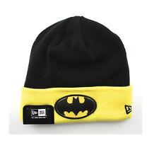 New Era DC Comics Batman Superhero Knit Winter Wool Sideline Beanie Fitted Hat