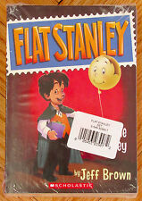Lot 5 FLAT STANLEY Books Jeff Brown Original Invisible in Space Magic Lamp NEW