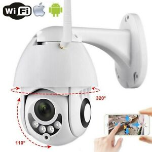 Telecamera IP WiFi Speedome PTZ 5MP 1080P zoom 2,8mm - 13,5mm impermeabile ICSEE