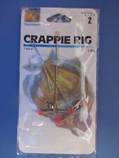 6 Danielson Crappie Rigs #132-2  Size 2  NEW