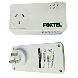 2x Foxtel NP511 Wireless 500Mpbs Powerline Adapters Foxtel