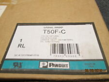 PANDUIT Polyethylene Spiral Wrap T50F-C - 1/2in. dia. - 100ft. **NEW**