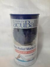 Dr Cohen's acuBall Heatable Deep Tissue Massage Muscle & Joint Pain Relief  NIP