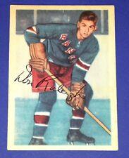"Don ""Bones"" Raleigh 1953-1954 Parkhurst Card#68 EX-MT Condition-Rangers Centre"