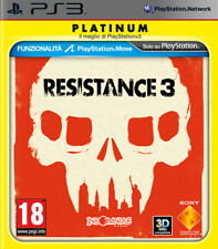 Resistance 3 Platinum PS3 PLAYSTATION 3 9294115 Sony Computer Entertainment