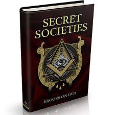 139 Secret Societies Books on DVD Illuminati NWO Free Masons Bilderberg Jesuits