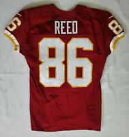 #86 Jordan Reed of Washington Redskins NFL Locker Room Player Worn Jersey