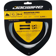 New Jagwire Mountain Pro Disc Brake Hydraulic Hose 3000mm White Front & Rear