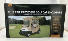 Club Car Precedent Golf Cart Enclosure: Beige (SOR)