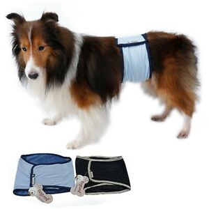 1pc Male Dog Physiological Pants Pet Belly Wrap Band Washable  Nappy Pants