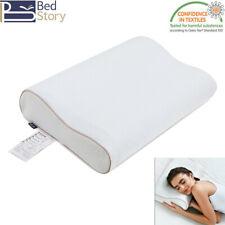 BedStory GEL Memory Foam Pillows Orthopedic Firm For Neck Pain Side Back Sleeper