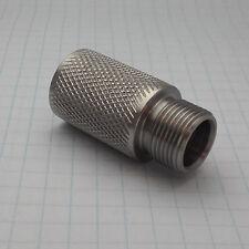 Adapter FEMALE 1/2 x 28 UNEF to MALE a i r s o ft -14 mm (M14x1 LH) s. steel