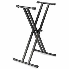 Music Stand Stagg Kxs-A6 Double Braced X Frame Keyboard Sturdy *UK SELLER*
