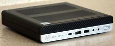 HP EliteDesk 800 G3 Mini 7th Gen i5 or i7 HDMI 12GB RAM 256GB SSD Win10 Pro WiFi