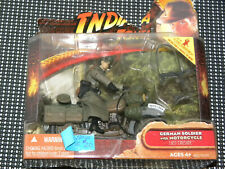 Indiana Jones And The Last Crusade Hasbro German Soldier With Motorcycle 4 Inch