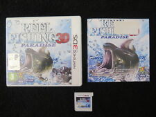 3DS : REEL FISHING PARADISE 3D - Completo, ITA ! Compatibile 2DS e New 3DS XL