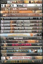 Classic Western films on DVD, various prices, combined shipping