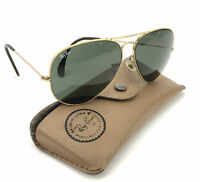 Vintage Ray Ban Bausch Lomb BL Outdoorsman Aviator Shooter Sunglasses 62 [] 14