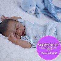 Reborn Doll Kit, vinyl baby doll preemie kit Taite by Denise Pratt  unpainted