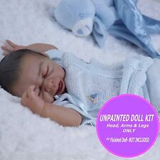 Reborn Doll Kit, vinyl baby doll preemie kit Taite by Denise Pratt  unpainted