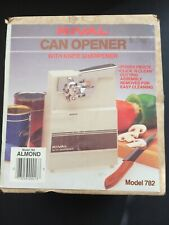 Rival Can Opener Almond (Model 782) Vintage New Sealed