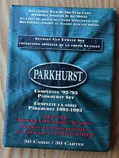 1992-93 Parkhurst '93 Playoffs. Gretzky Lemieux Roy Selanne Bure Gilmour Potvin