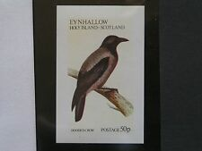 HOODED CROW 1973 EYNHALLOW imperforate SOUVENIR SHEET GB LOCALS
