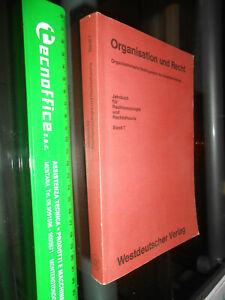 LIBRO:Organisation und Recht: Organisatorische Bedingungen des Gesetzesvollzugs
