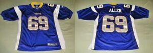 JARED ALLEN MINNESOTA VIKINGS NFL FOOTBALL JERSEY #69 Reebok On Field Size 54