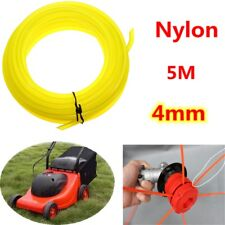 4mm x 5m Strong Brushcutter Trimmer Strimmer Nylon Cord Line Wire String Rope ^