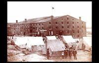 Civil War Libby Prison PHOTO Confederate Control, Union Prisoners, Richmond 1863