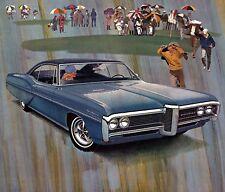 1968 Pontiac Ventura coupe, Refrigerator Magnet, 40 Mil