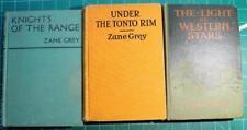 Zane Grey Westerns Knights of the Range Light of Western Stars Under Tonto Rim
