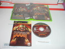 DOOM 3 game complete in case w/ manual for Microsoft XBOX