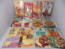 12 Pillsbury & Betty Crocker Small Pamphlet Style Cookbooks