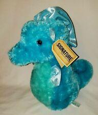 Aurora World Blue Seahorse Plush Destination Nation Signature Collection Stuffed