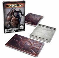 Necromunda Corpse Grinder Cult Gang Cards (Englisch) Tactics Cards GW Underhive