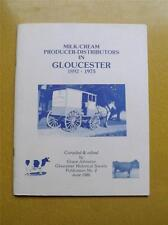BOOK MILK CREAM PRODUCER DISTRIBUTORS IN GLOUCESTER CANADA DAIRY 1986